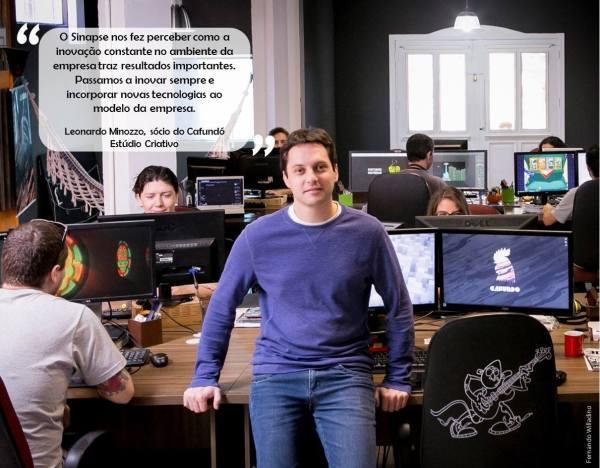 Cafundó é uma das 20 empresas mais inovadoras de SC